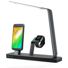 4smarts Ladestation mit LED Lampe LoomiDock für Apple Geräte