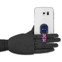4smarts LOOP-GUARD Finger Strap Halteschlaufe für Smartphones Union Jack