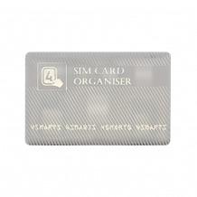 4smarts SIM-Karten Organiser mit Adaptern weiß gold