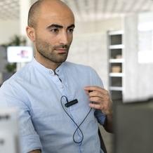 4smarts Wireless Mono-Headset TalkClip B1 schwarz