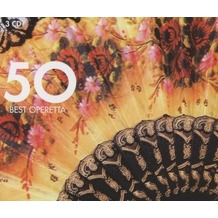 50 Best Operetta, CD