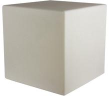 8 Seasons Dekoleuchte Shining Cube 'Sand' (Solar) 33 cm
