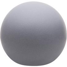 8 Seasons Dekoleuchte Shining Globe 'Grey' (Solar) 30 cm