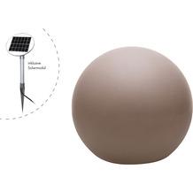 8 Seasons Dekoleuchte Shining Globe 'Taupe' (Solar) 30 cm