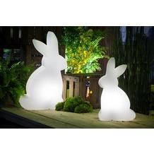 8 Seasons Shining Rabbit 50 cm weiß