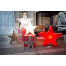 "8 Seasons Shining Star ""Merry Christmas"" Ø 60 cm rot"