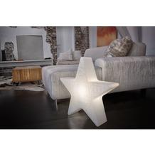 """8 Seasons Shining Star """"Merry Christmas"""" Ø 60 cm weiß"""