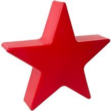 8 Seasons Shining Star, rot Ø 40 cm