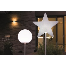8 Seasons Star Merry X-Mas on Stick (LED) 100 cm