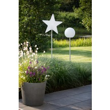 8 Seasons Star Merry X-Mas on Stick (LED) 130 cm
