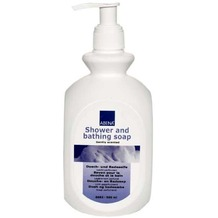 Abena Skincare Dusch & Badeseife, 6 x 500 ml