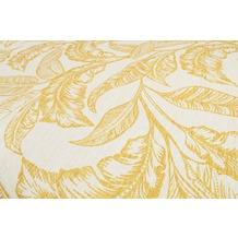 Accessorize Kurzflor-Teppich Mozambique Palm ACC-38805-01 gelb 80x150 cm
