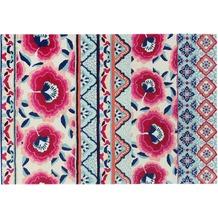 Accessorize Teppich Pink Poppy ACC-005-10 blau 80x150