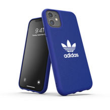 adidas OR Moulded Case Canvas FW19 for iPhone 11 power blue
