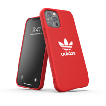 adidas OR Moulded Case Canvas FW20 for iPhone 12 / 12 Pro scarlet