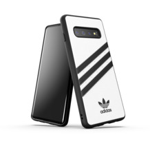 adidas OR Moulded Case PU SS19 for Galaxy S10 white/black