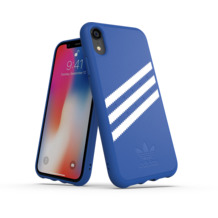adidas OR Moulded case SUEDE FW18 for iPhone XR collegiate royal