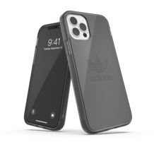 adidas OR Protective Clear Case FW20 for iPhone 12 / 12 Pro smokey black