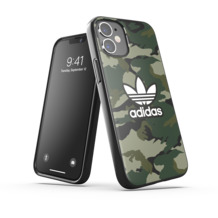 adidas OR Snap Case Graphic AOP FW20 for iPhone 12 mini black/night cargo