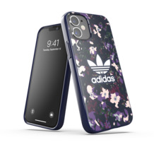 adidas OR Snap Case Graphic AOP FW20 for iPhone 12 mini collegiate navy/active purple
