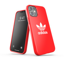 adidas OR Snap Case Trefoil FW20 for iPhone 12 mini scarlet