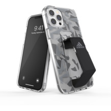 adidas SP Clear Grip Case FW20 for iPhone 12 Pro Max grey/black