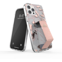 adidas SP Clear Grip Case FW20 for iPhone 12 Pro Max pink tint
