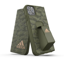 adidas SP Folio Grip Case Camo FW19 for iPhone 11 Pro Max tech olive