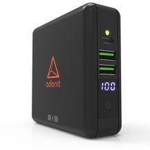 adonit Wireless TravelCube Reiseladegerät, Qi, EU,UK,US,AU,Asia, schwarz