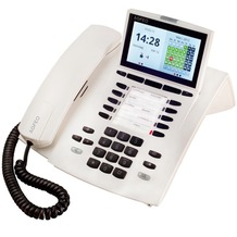 Agfeo Systemtelefon ST 45, reinweiß