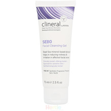 Ahava Clineral SEBO Facial Cleansing Gel - 75 ml