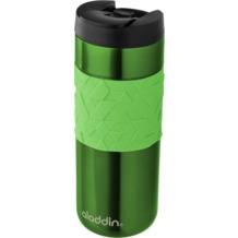 aladdin Isolierbecher Easy Grip 470ml grün aus Edelstahl Thermobecher 100% auslaufsicher