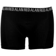 "Alan Red BOXER ""LONG"" 3er Pack schwarz S"