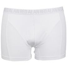 "Alan Red BOXER ""LONG"" 3er Pack weiss S"