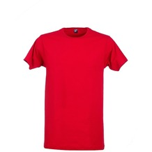 Alan Red DERBY T-SHIRT, O-Neck stone red L