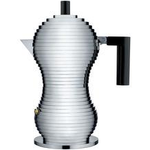 Alessi Espressokocher PULCINA 15 cl, schwarz