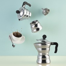 Alessi Espressokocher MOKA Classic 6