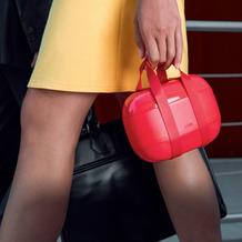 Alessi Lunchbox im Handtaschendesign - Farbwahl