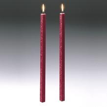 Amabiente Kerze CLASSIC rubin 40cm - 2er Set