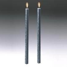Amabiente Kerze CLASSIC steingrau 40cm - 2er Set