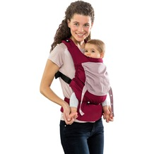 Amazonas Babytrage Smart Carrier bordeaux