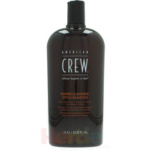 American Crew Power Cleanser Style Remover Shampoo Daily - To Remove - Build up for all types of hair 1000 ml
