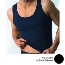 AMMANN Athletic-Shirt, Serie Cotton & More, schwarz 5