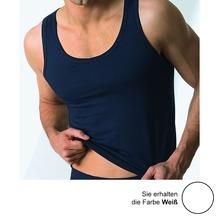 AMMANN Athletic-Shirt, Serie Cotton & More, weiß 5