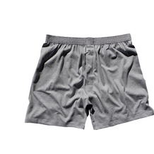 AMMANN Boxer-Short, Basic Cotton, grau melange 5