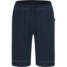 AMMANN Hose kurz, Sweat, Sportbund mit Kordel, Taschen, dunkelblau 48
