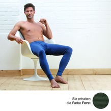 AMMANN Hose lang mit Eingriff, Serie Jeans, forst 5