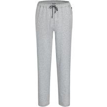 AMMANN Hose lang, Sweat, Sportbund mit Kordel, Taschen, grau melange 50