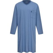 AMMANN Nachthemd Langarm, V-Ausschnitt, Brusttasche, polo Gr. 48