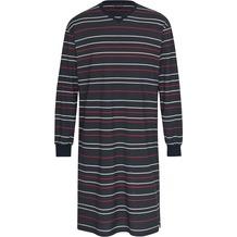 AMMANN Nachthemd Langarm, V-Ausschnitt, nightblue 50